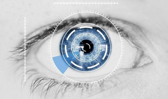 Occhiali microchip