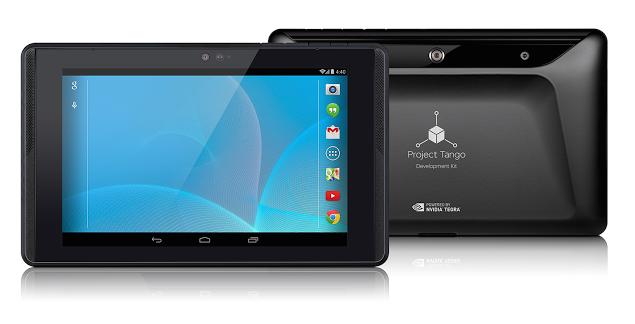 Tablet Dev Kit per il Project Tango di Google