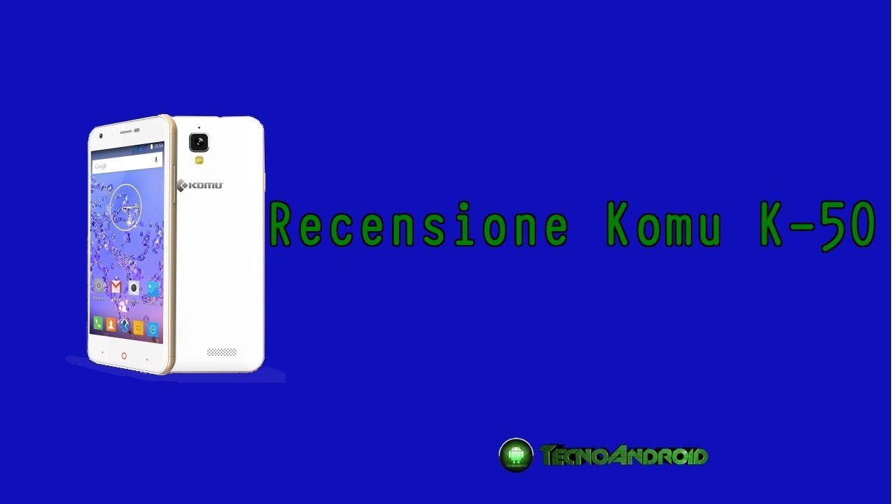 recensione komu k50
