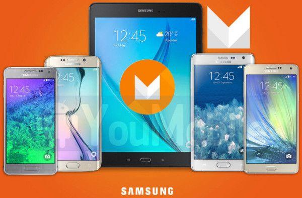 Lista dei primi dispositivi Samsung a ricevere Android 6.0 MarshMallow