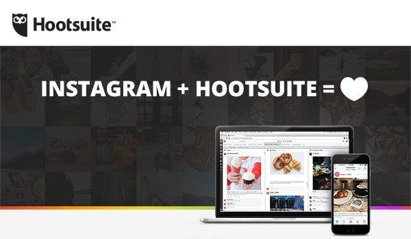 Instagram e Hootsuite