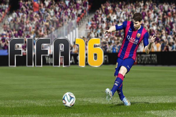 Un'immagine di Messi in Fifa 16