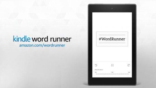kindle word runner