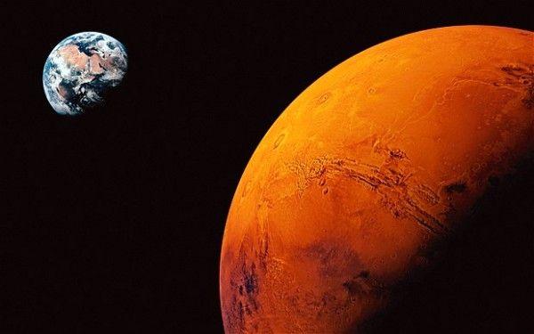 Marte acqua salata