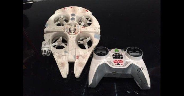 Drone Millenium Falcon e droide BB-8 sono disponibili per Android e iOS