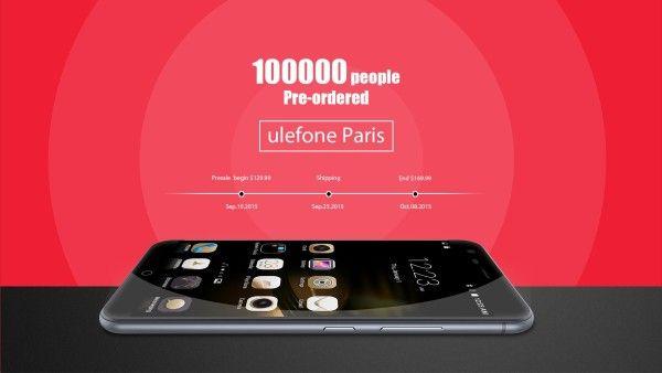 Ulefone Paris prevendite