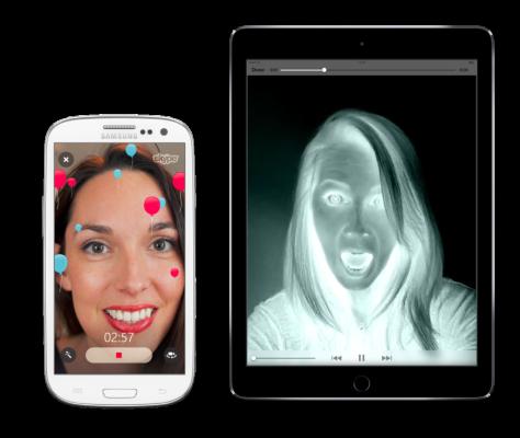 Skype si aggiorna e aggiunge i filtri ai videomessaggi