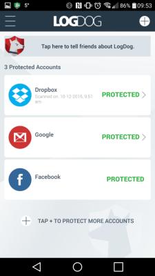LogDog, l'app che protegge dagli hacker