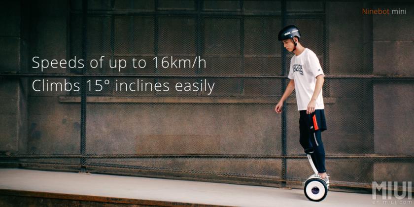 Ninebot Mini è il Segway di Xiaomi con un'autonomia di 22 km