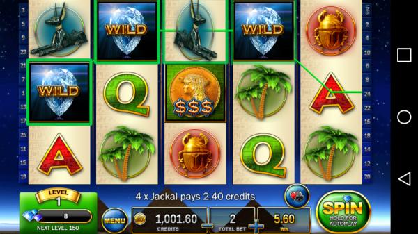 Slots - Pharaoh's Way, l'app per chi gioca alle slot machine