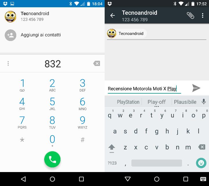 Screen Moto X