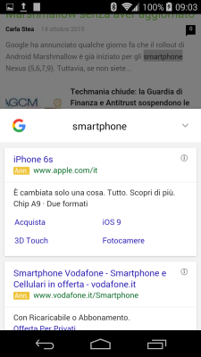 google chrome trucchi