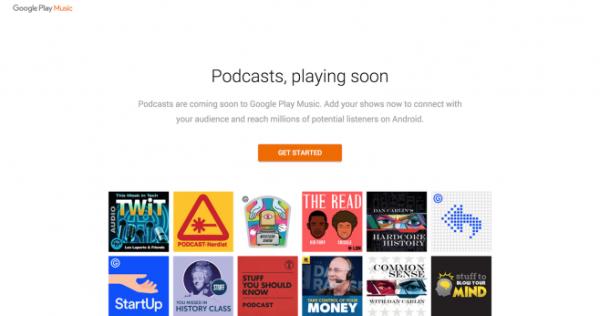 Google supporterà i podcast su Play Music