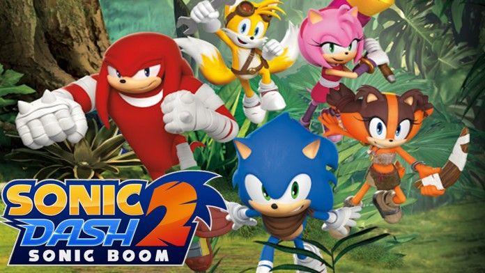 Sonic Dash 2: Sonic Boom ora disponibile sul Play Store