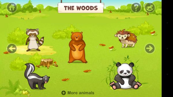Zoo Playground, il gioco Android per i bambini