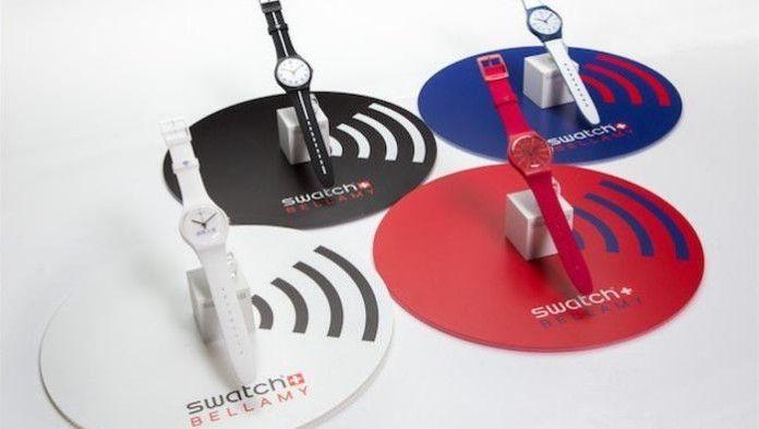 Accordo Swatch-Visa per i pagamenti via orologio