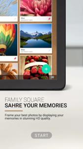 Samsung rilascia Family Square per il Galaxy View