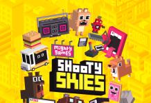 Shooty Skies Arcade Flyer