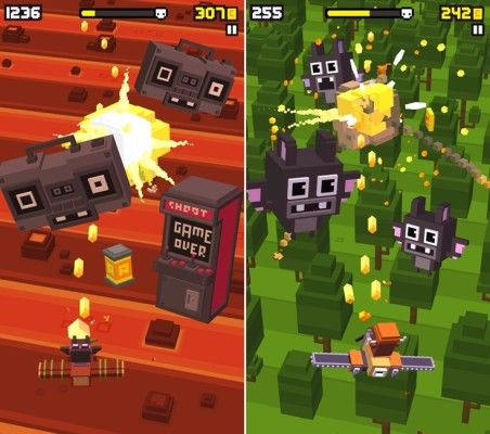 Shooty Skies Endless Arcade Flyer Android