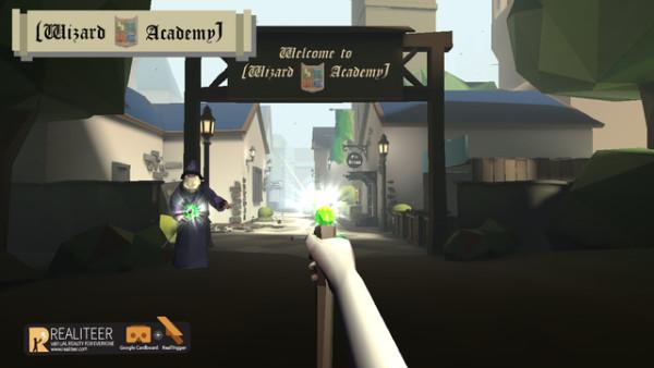 Wizard Academy VR Cardboard