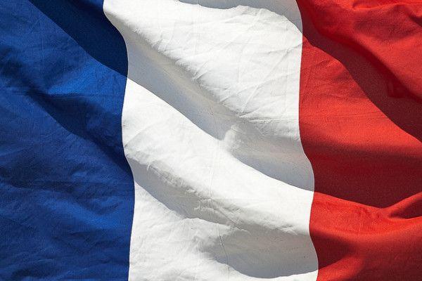 Foto profilo tricolore francese