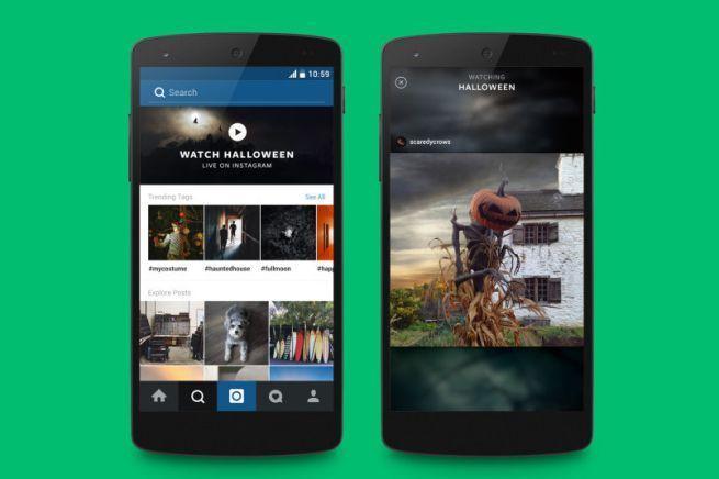 Instagram video feed