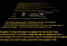 Easter egg Star Wars