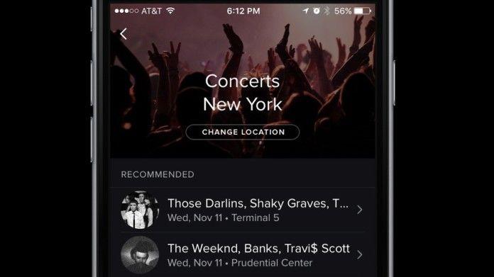 Spotify Concerti