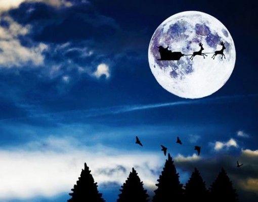 luna piena Natale