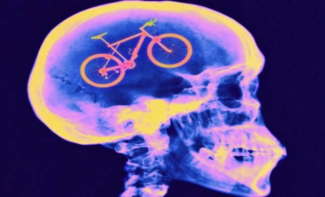 cervello bicicletta