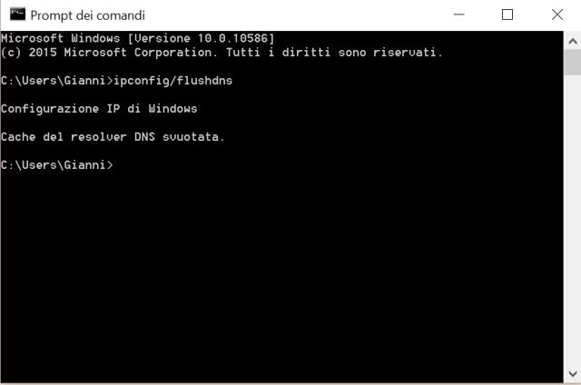 cancellare cache windows 10 (5)