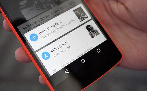 Screenshot Google Now on Tap