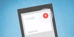 Comandi vocali Google now