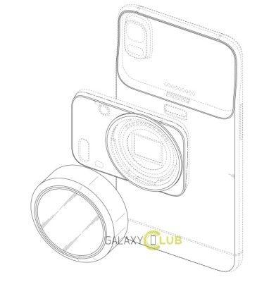 Concept fotocamera modulare samsung