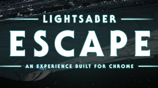 Lightsaber Escape - nuovo Chrome Experiment
