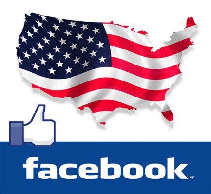 Facebook visto Usa