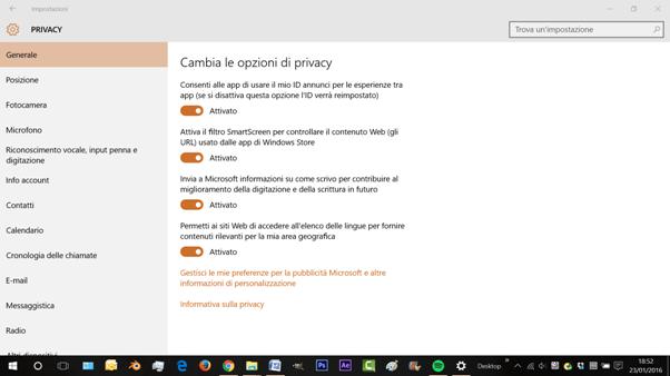 5 trucchi di windows 10