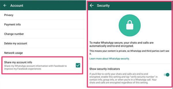whatsapp beta screenshot privacy sicurezza
