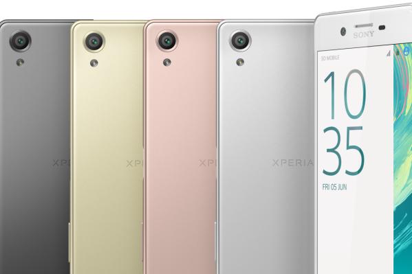 Sony presenta Xperia X, tre nuovi smartphone Android 6.0
