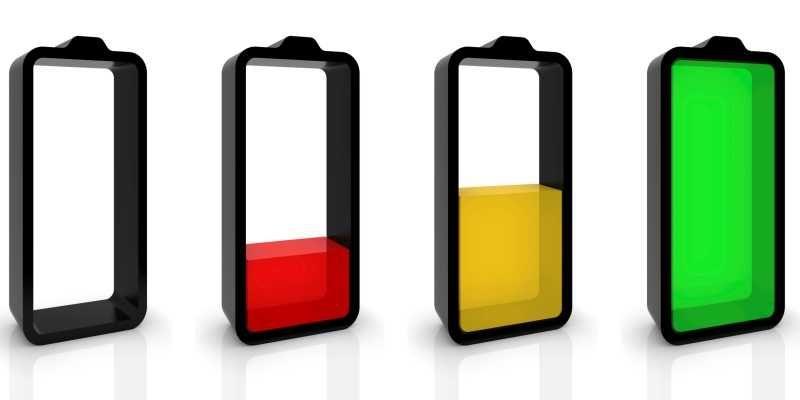 consumo batteria