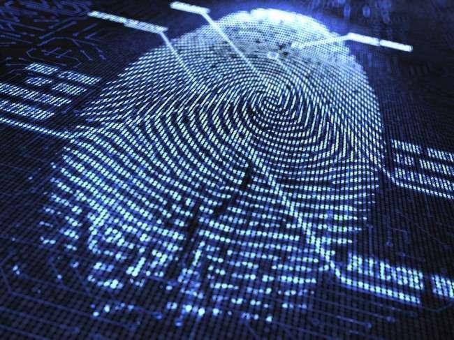 lettore d'impronte digitali