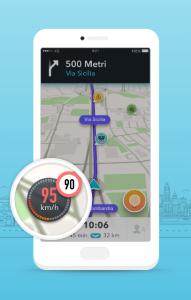 Waze si aggiorna e aiuta a rispettare i limiti di velocità