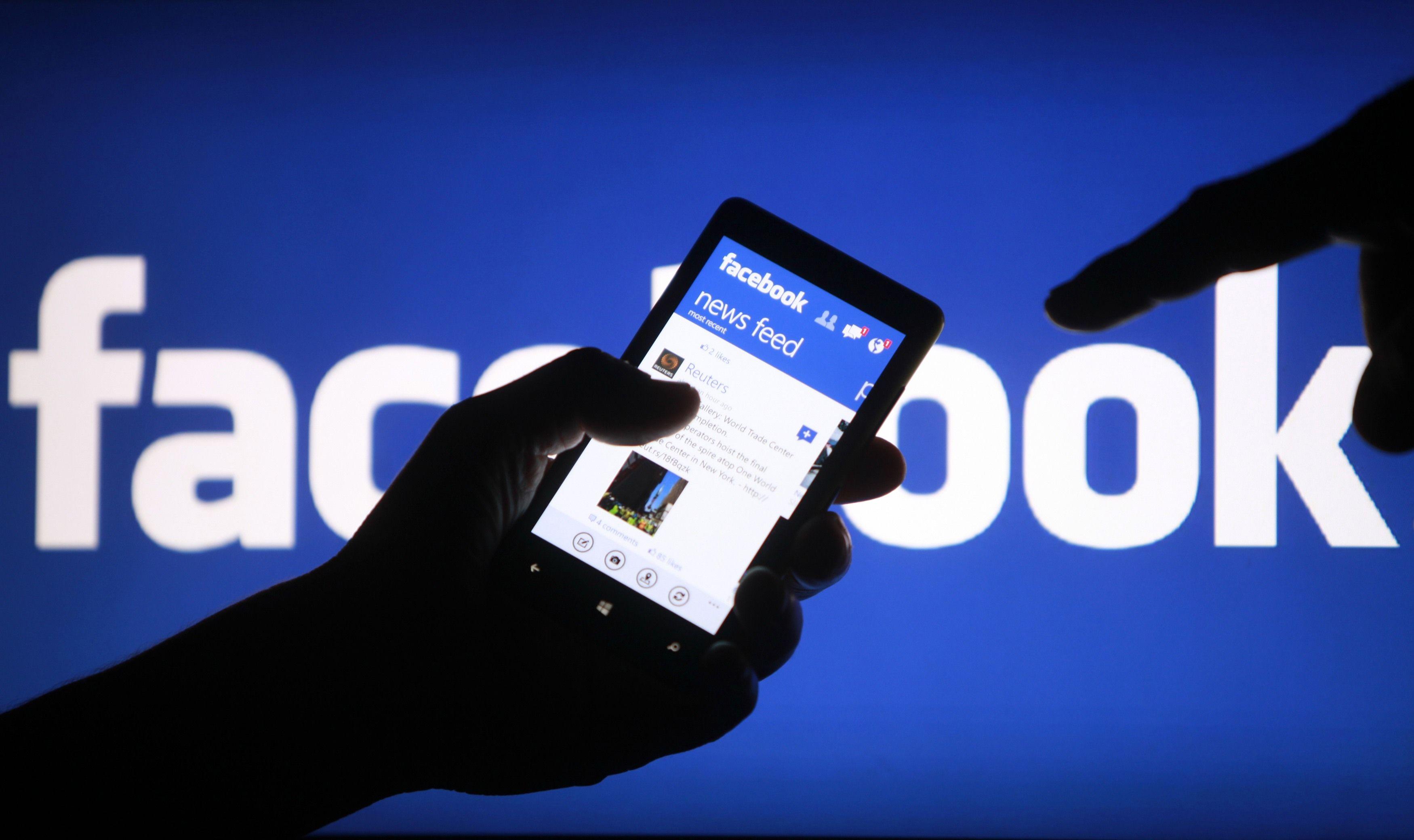 Facebook app fotocamera