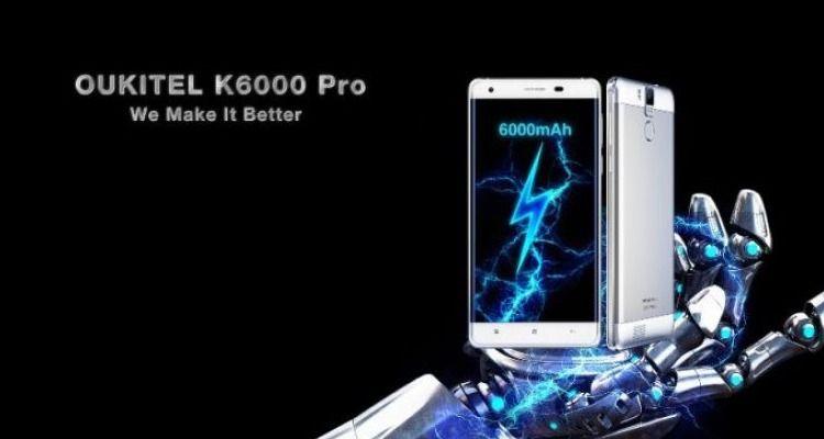 Oukitel presenta ufficialmente il modello K6000 Pro