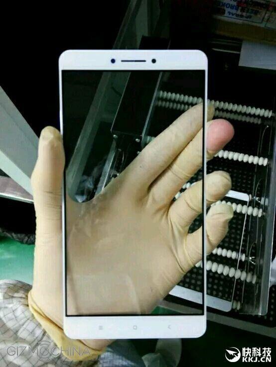 Xiaomi Max pannello anteriore