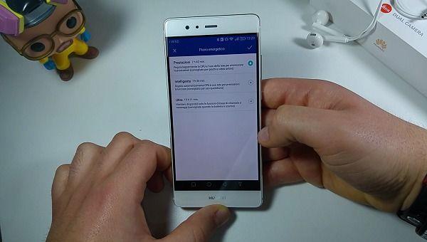 Huawei P9 batteria