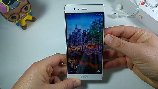 Huawei P9 schermo