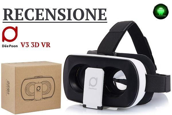 Recensione DeePoon V3 3D