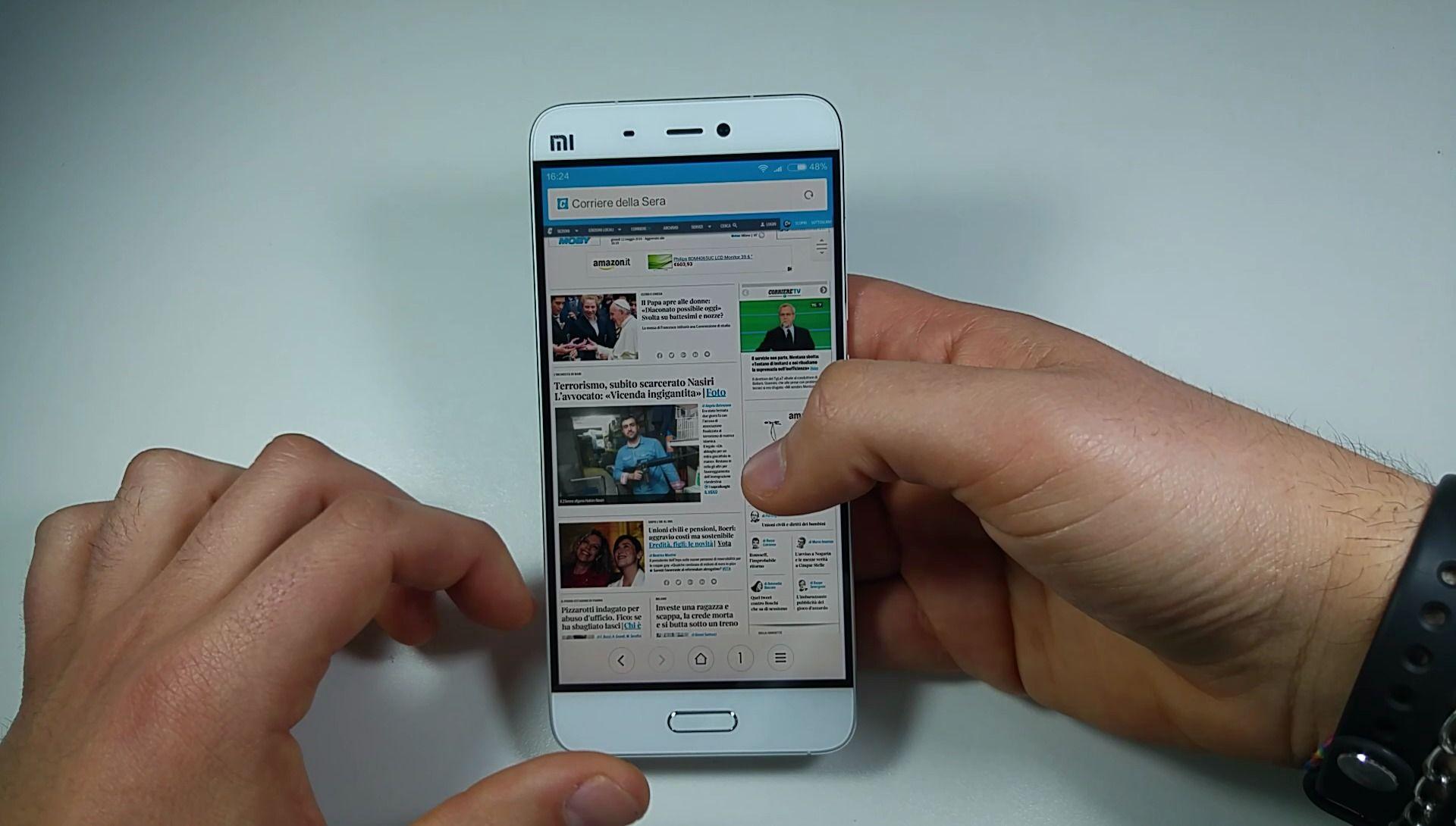Xiaomi Mi5 web