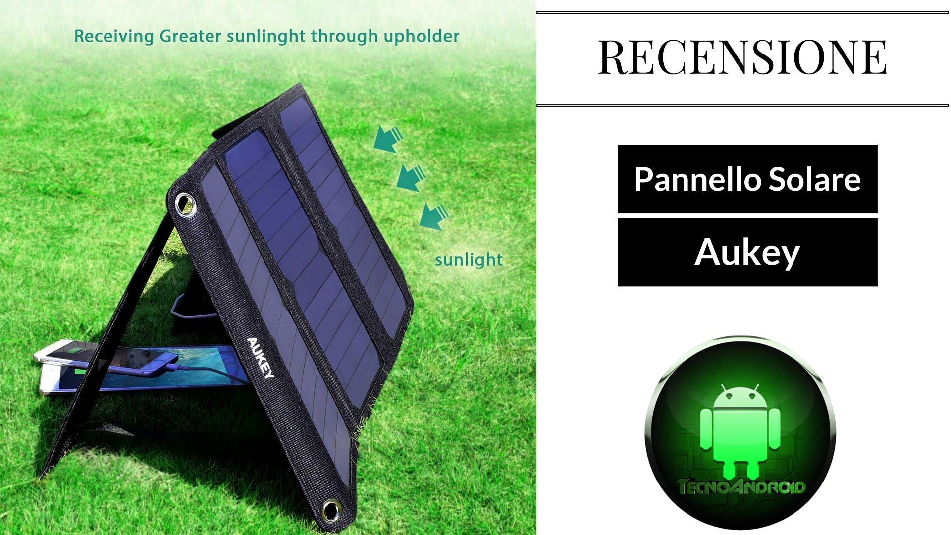 Pannello Solare Solcrafte Recensioni : Pannello solare pieghevole aukey il migliore per